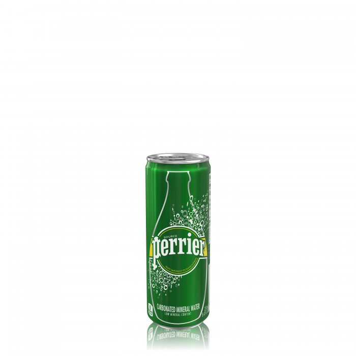 Perrier in lattina